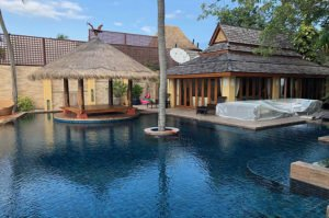 large pool with sala