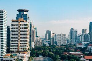 bangkok skyscrapers thailand