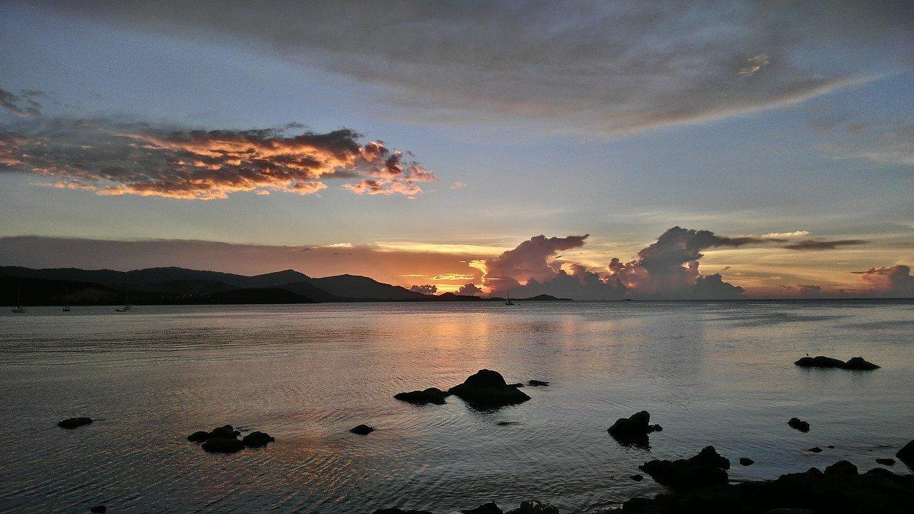 koh samui bophut sunset beach
