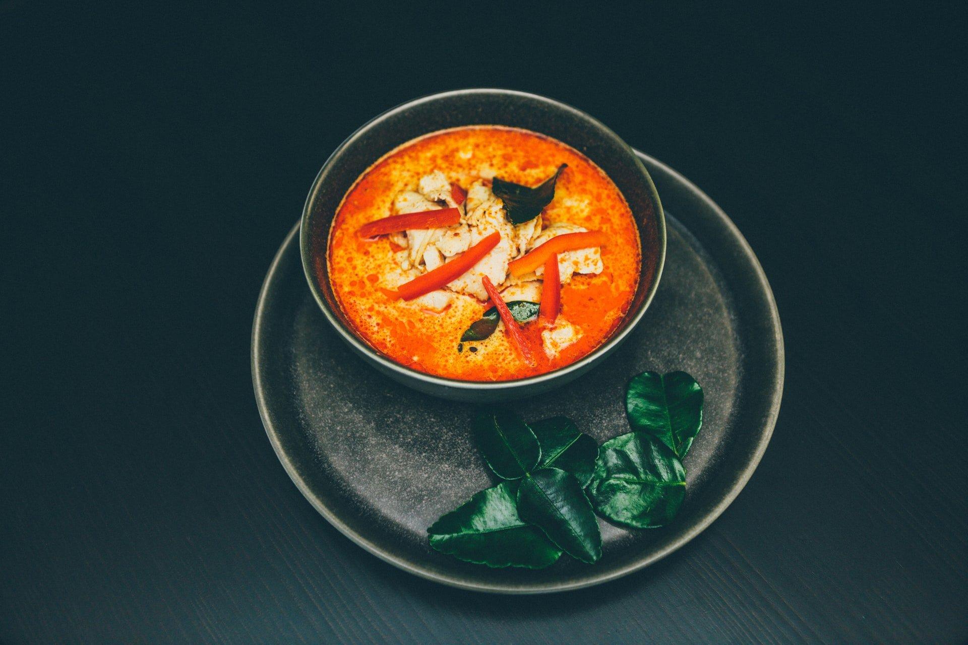thai red curry thailand