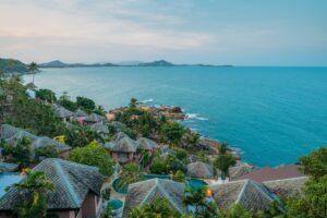 koh samui villas coast ocean view